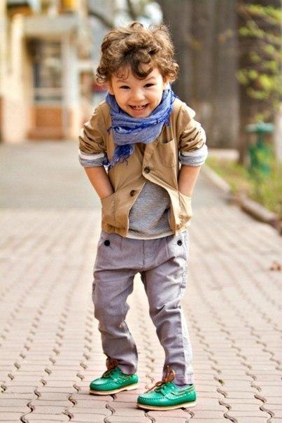 дети модники фото